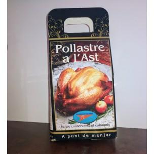 POLLASTRE A L'AST (LLENYA)